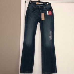 Brand new Levi's boot cut 529 woman's jeans